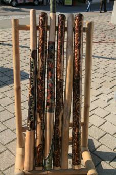 Didgeridoo Teakholz Natur geölt