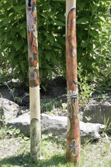 Didgeridoo Teakholz Gecko Känguruh